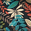 Thumbnail: XL size Bean Buddy, special upholstery fabric, dark floral print
