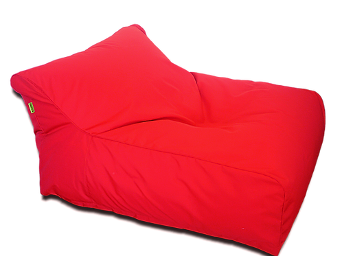 Red Double Seater Bean Bag