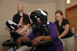 Chair massages, Newark, DE