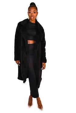 TBP Long Teddy Coat