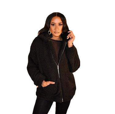 Zip Me Up Fleece Coat