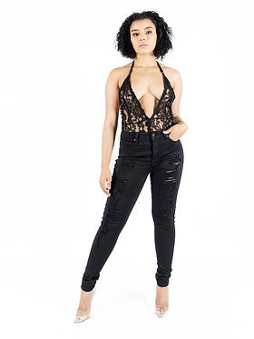She Got It Made Lace Bodysuit
