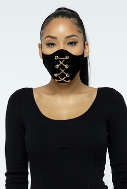 Kitana Gold Chain Face Mask