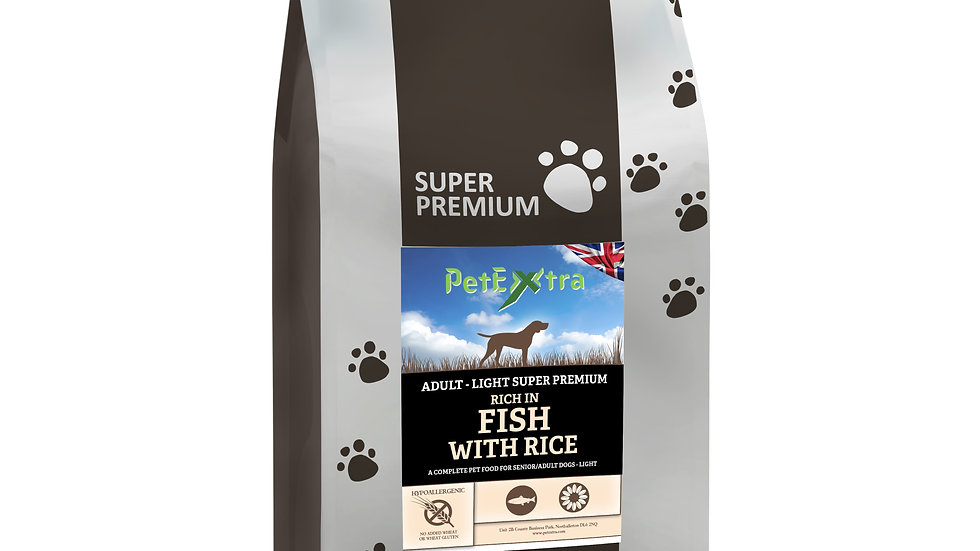 PetExtra Super Premium Senior / Light Dog Food