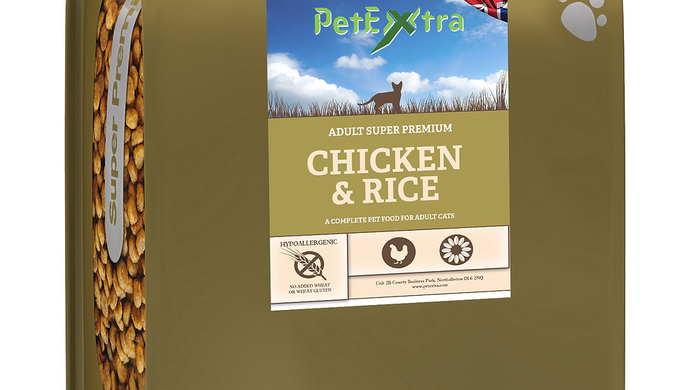 PetExtra Super Premium - Adult Cat Food Chicken 2kg