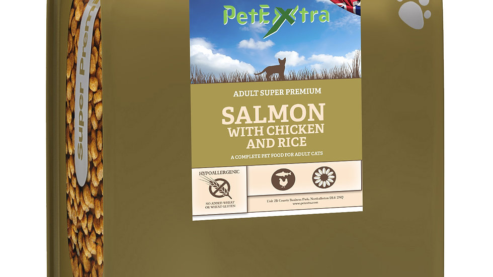 PetExtra Super Premium - Adult Cat Salmon with Chicken 2kg