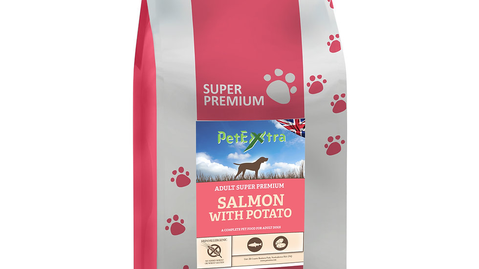 PetExtra Super Premium - Salmon & Potato  - Adult dog