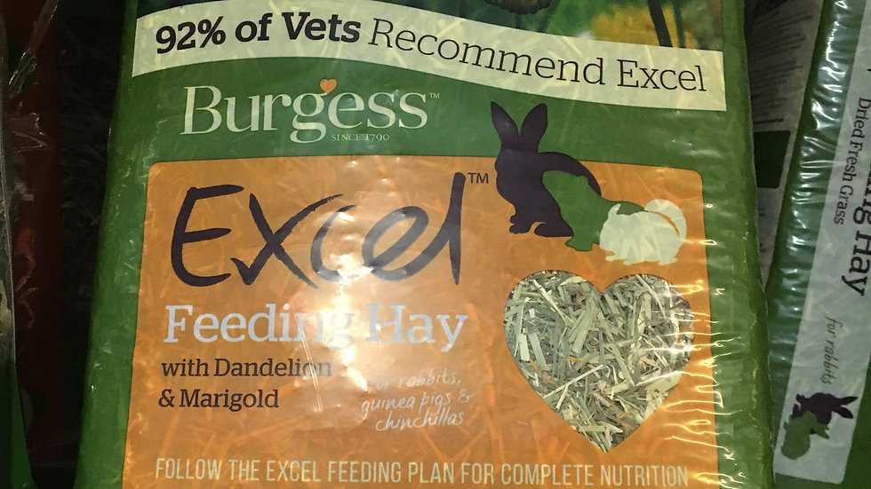 Burgess Excel Herbage 1kg