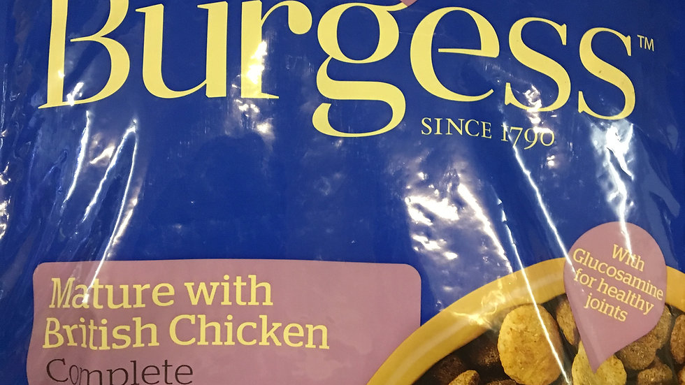 Burgess Mature 12.5kg (Supadog)