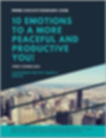 10 Emotions to a more peaceful and produ