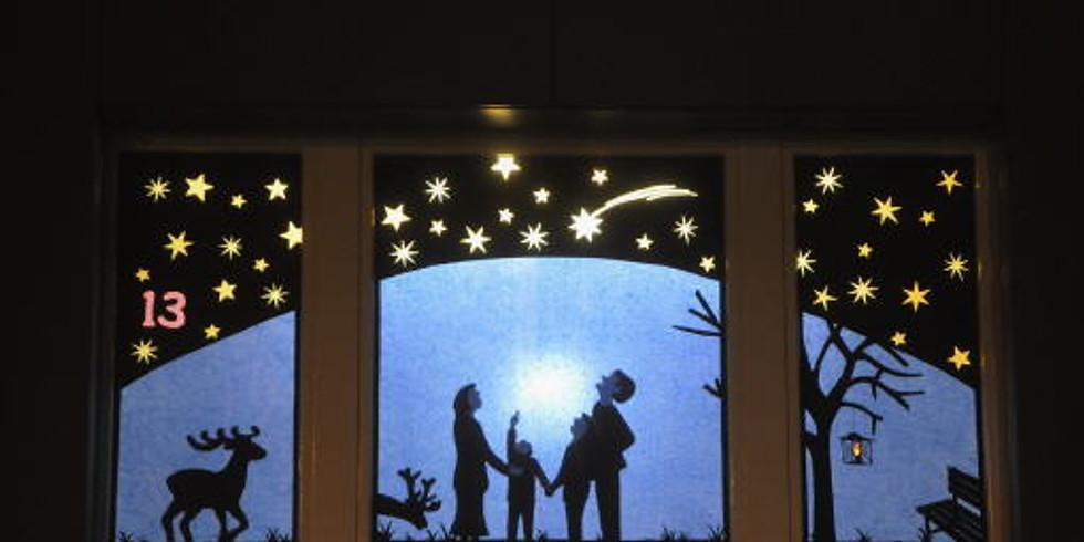Adventsfenster Eröffnung