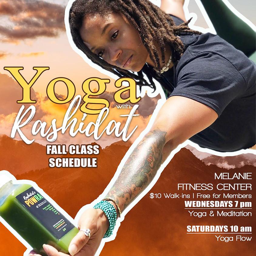 Yoga & Meditation Wednesdays