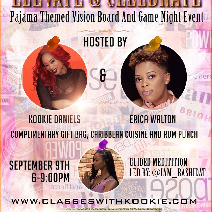 Vision Board & Game Night Party