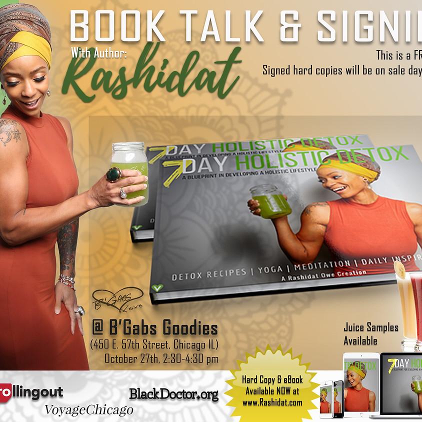Book Talk & Signing