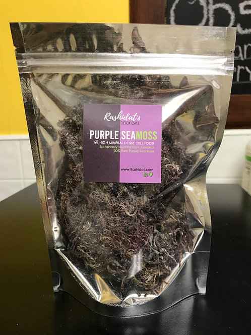 Raw Purple Seamoss (1oz)