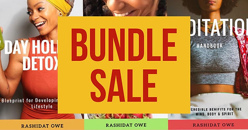 ALL 3 EBooks Bundle SALE