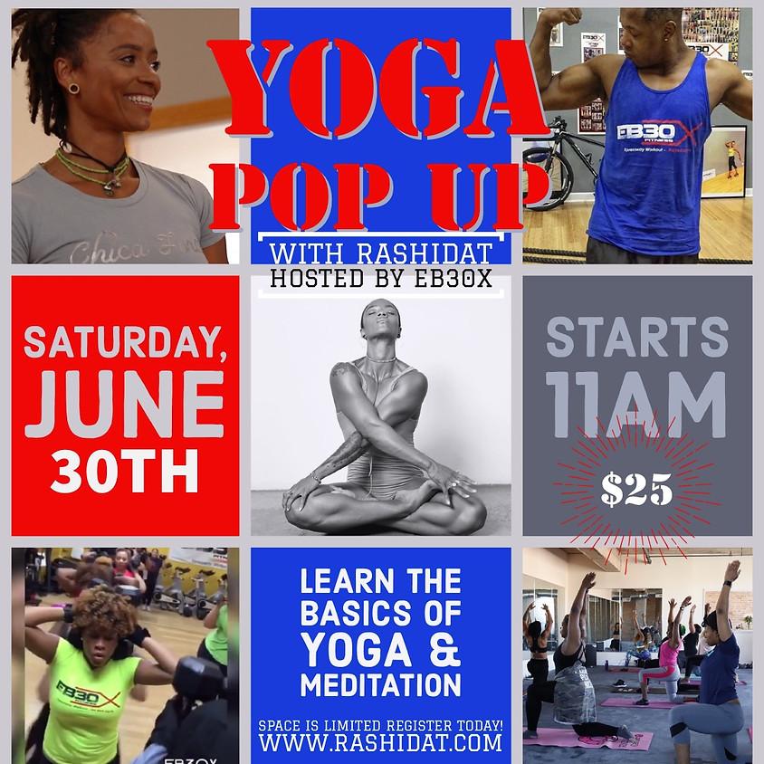 Yoga POP UP Class