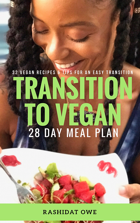 Transition to Vegan 28 Day Meal Plan