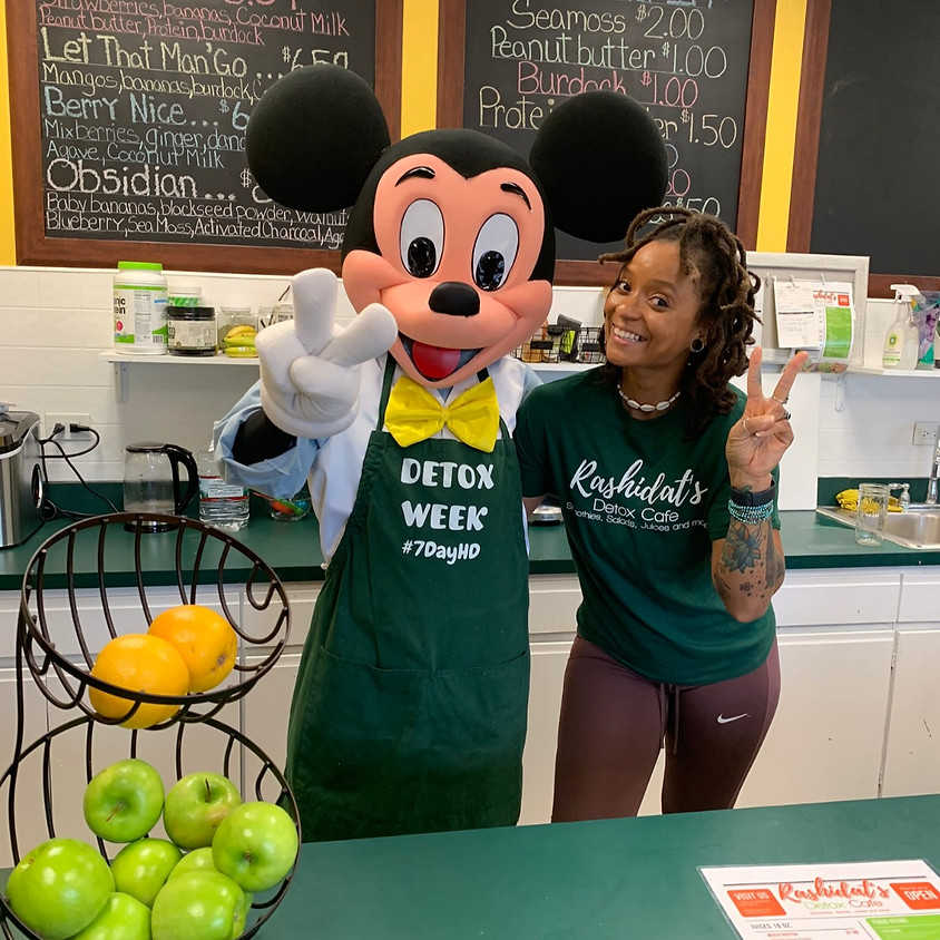 Make Smoothies with Mickey FREE EVENT!