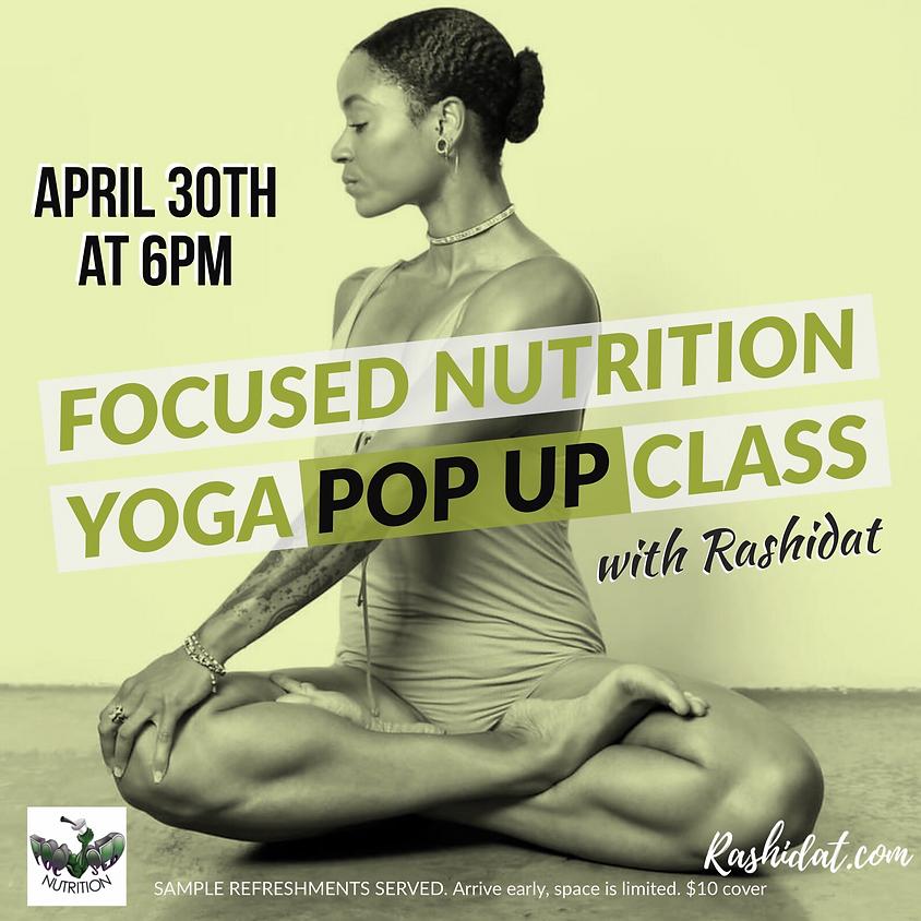 Yoga POP UP Class 1
