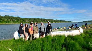 Summer canoeing trips in Saskatchewan