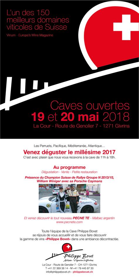 Cave ouverte - 19 et 20 mai 2018