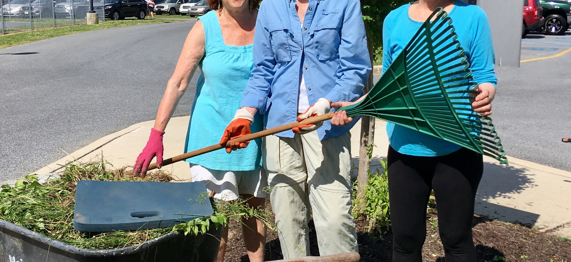 Lord Baltimore Garden Clean Up 2017 PIC