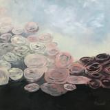 Bouquet de fleurs abstrait 2