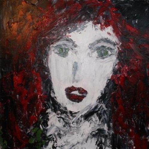 La fille aux cheveux rouges