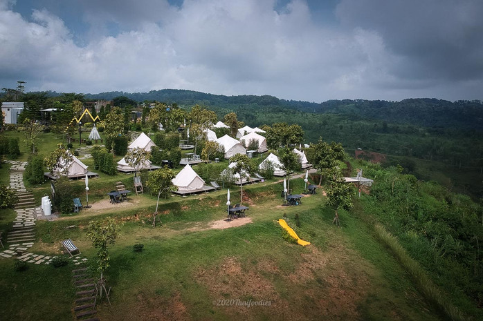 Explore new experience stay at Papa garden Khaokho Phetchabun 920 metre high altitude from sea