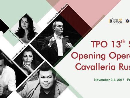 News: Bangkok,  3-4 Novembre  Cavalleria Rusticana