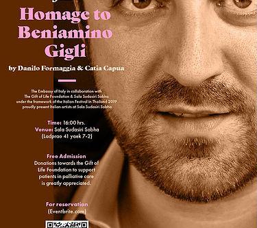 BANGKOK: Omaggio a Beniamino Gigli