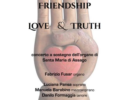 Friendship Love & Truth