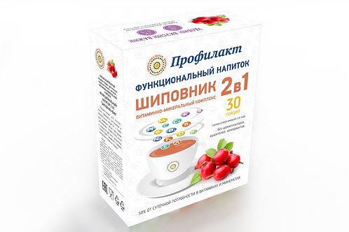 """Функциональный напиток 2в1 """"Шиповник+ВМК"""""""