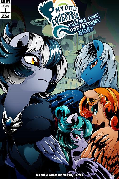 Copie de MLP fan comic One Stormy Night N°1 FRENCH