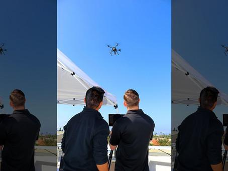 CALIFÓRNIA USA DRONES PARA INFORMAR SOBRE O CORONA VÍRUS