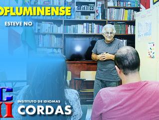 """O """"O Fluminense"""" entrevistou o Mestre Quico Cordas"""