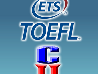 TOEFL iBT agora é no Instituto Cordas