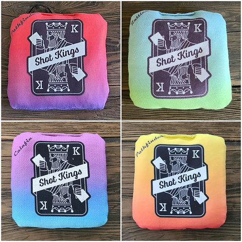 Shot Kings Gradient Series (4 different sets) - Chicali Boards Cornhole Bag