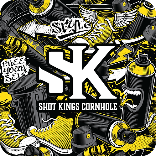 Shot King  Graffiti Revolution yellow -  Pro-X