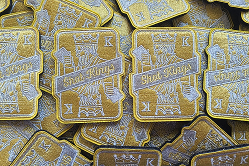 Shot Kings Gold - Velcro Patch