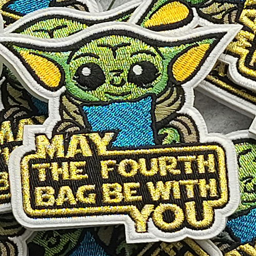 Limited Metallic May the Fourth  - Velcro Patch