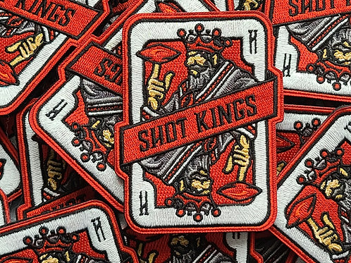 Shot Kings 2.0 Red Card - Velcro Patch