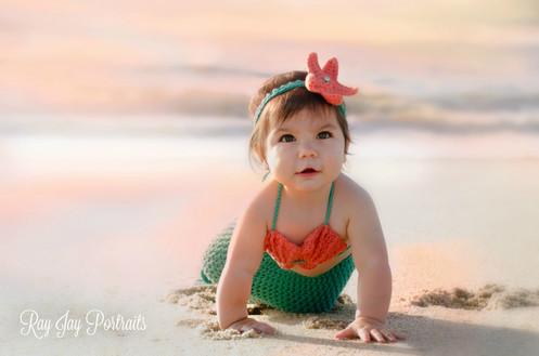 one year photo mermaid beach