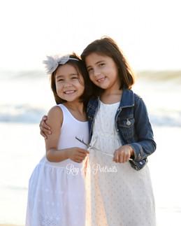 Beach sessions siblings