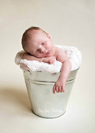 simple newborn photo