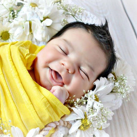 newborn summer photo