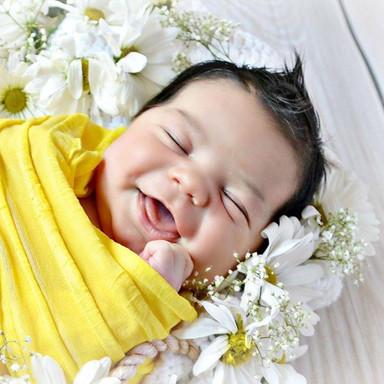 newborn summer photo