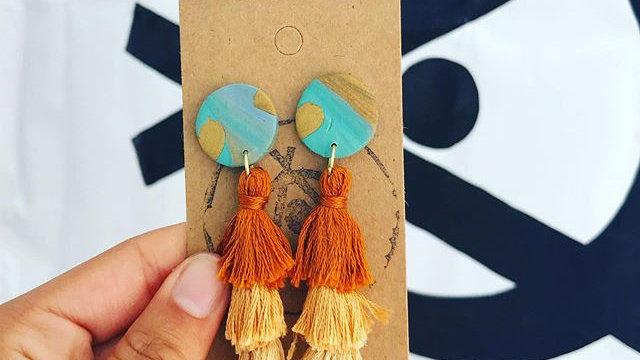 Mwezi Tassel earrings