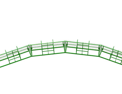 Align Multiple Cages for a Perimeter of Protection